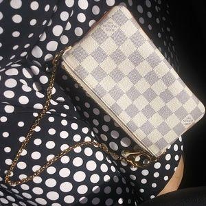 Louis Vuitton Bags - ✨LV Wristlet Purse✨Damier Azur Louis Vuitton bag